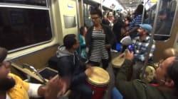 시카고 지하철에서 벌어진