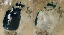 Vous n'avez jamais vu la mer d'Aral? Trop tard, elle a