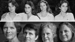 Il prend quatre sœurs en photo chaque année pendant 40 ans
