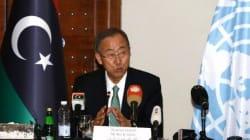 Libye: Ban Ki-moon à Tripoli, appelle à un cessez le feu et incite au
