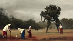 1차대전 때 거대 로봇이