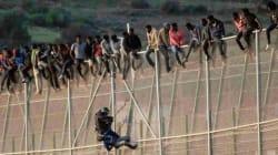 Entre le Maroc et l'Espagne, les autorités répriment des migrants africains