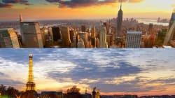 세계적인 여행지 파리와 뉴욕의 공통점