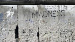 Die trennende Mauer löst Trauer bei mir