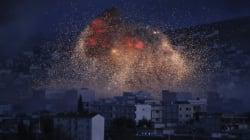 미국 주도 국제군, 이슬람반군 공습
