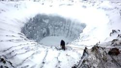 시베리아에서 또 다시 거대한 구멍이