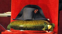 Devinez à combien s'est vendu le chapeau de Bonaparte aux