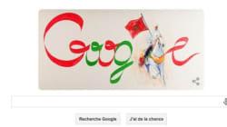 Google fait une spéciale dédicace au