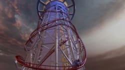 Montez à bord des (futures) plus hautes montagnes russes du monde avec le Skycraper