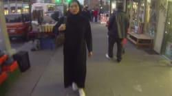 티셔츠·히잡 입은 여성에 대한 뉴욕 남성