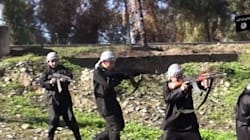 IS, 어린이 군사훈련 동영상 또