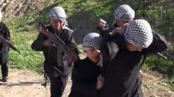 Daech publie une vidéo de ses enfants jihadistes à
