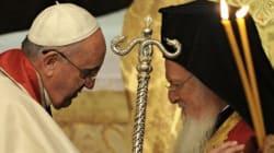 Βίντεο: Ιστορικό συλλείτουργο Πάπα και Πατριάρχη στην