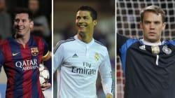 Messi, Ronaldo et Neuer finalistes du Ballon d'Or: L'année du choix