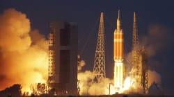 미국 차세대 우주선 '오리온' 발사