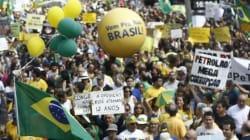 Brésil: 5.000 manifestants contre la corruption et la politique de Dilma