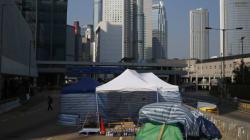 홍콩 정부, 시위캠프 모두 철거
