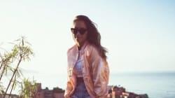 Mannequin Elite, célèbre blogueuse, cette Marocaine installée en Suède est aussi surfeuse à ses