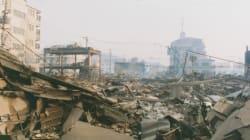 고베 대지진 직후의 사진들이