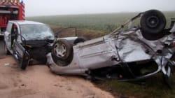 Accidents de la route: 12 morts en 48 heures à travers tout le territoire