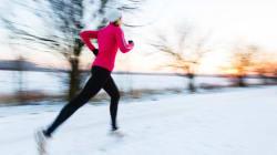 겨울철 야외운동의 장점
