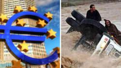Inondations: L'UE donne 106 000 euros pour les personnes