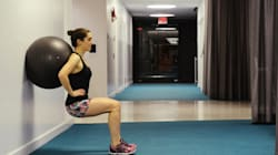 집에서 할 수 있는 엉덩이 운동 6