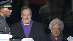 L'ancien président américain George H. W. Bush