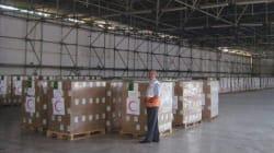 L'Algérie envoie 200 tonnes en aide humanitaire à la