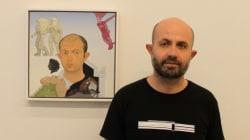 Μανώλης Μπιτσάκης: Εικόνες από την έκθεσή του στη γκαλερί