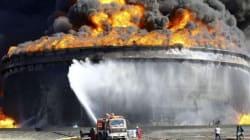 En Libye, le pétrole part en fumée : 1,8 millions de barils