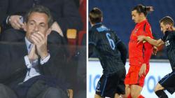 Sarkozy supporte Zlatan à