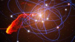 우리 은하계 블랙홀을 돌고 있는 이상한 물체의