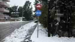 Έντονα προβλήματα από την χιονόπτωση σε αρκετά σημεία της