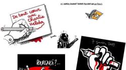 En hommage à Charlie Hebdo, les dessinateurs du monde entier prennent la
