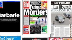 Charlie Hebdo: Les unes de la presse à travers le