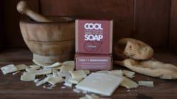 Cool Soap: Χειροποίητα σαπούνια από ελληνικό ελαιόλαδο και αιγινήτικο