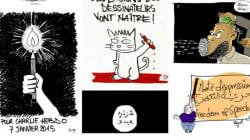 Charlie Hebdo: Les dessinateurs tunisiens prennent aussi la