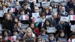 Πορεία κατά της τρομοκρατίας και του φόβου στο