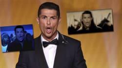 L'étrange cri de Ronaldo après son Ballon d'or amuse les
