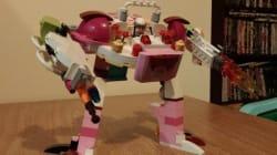 설명서를 무시한 레고 로봇