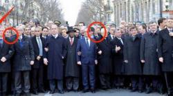 Ισραηλινή εφημερίδα «εξαφάνισε» τη Μέρκελ από τη φωτογραφία της πορείας στο