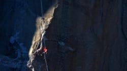 요세미티 수직 암벽을 맨손으로 등반한 미국