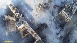 Συγκλονιστικό βίντεο από drone: Το κατεστραμμένο αεροδρόμιο του Ντόνετσκ μετά από ένα χρόνο