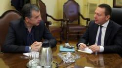Θεοδωράκης σε Στουρνάρα: Το Ποτάμι θα διασφαλίσει τη θέση της Ελλάδας στην