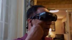 Η τρομερή αντίδραση του τυφλού που βλέπει για πρώτη φορά μετά από 20 χρόνια