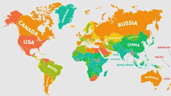 Αυτές είναι οι πιο παχύσαρκες χώρες του κόσμου