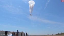 Insolite: Une montgolfière Google en panne atterrit à