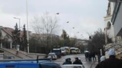Batna, un immeuble encerclés, des terroristes s'y seraient