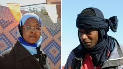 Fatiha et Ahmed, deux